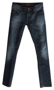 Nudie Jeans Slim Stretch Skinny Jeans-Dark Rinse
