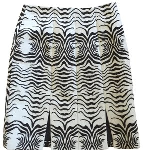 Etcetera Skirt Cream with black/ dark brown