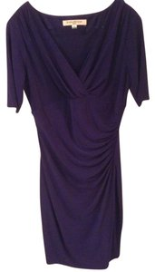 Evan Picone Faux-wrap Dress