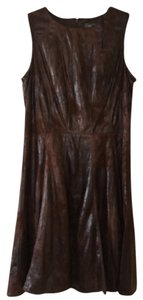 Vince Camuto short dress Brown on Tradesy