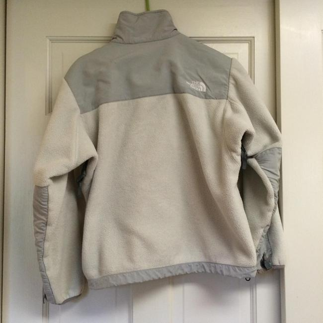 The North Face white / gray Jacket