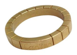 Cartier Lanieres gold Band 18k size (49) US-5 use code DOUBLE75 for $75 off