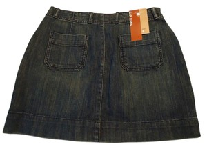 Gap Mini Skirt blue denim