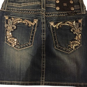 Miss Me Skirt Denim