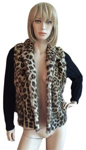 Other Genuine Fur leopard Leather Jacket