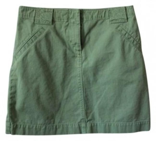 J.Crew Mini Skirt Green