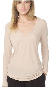 James Perse T Shirt Cream