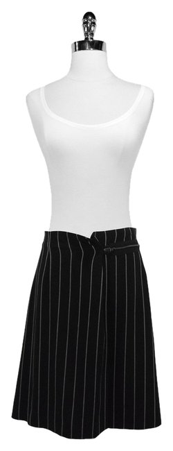 Armani Wool Skirt Black/Grey