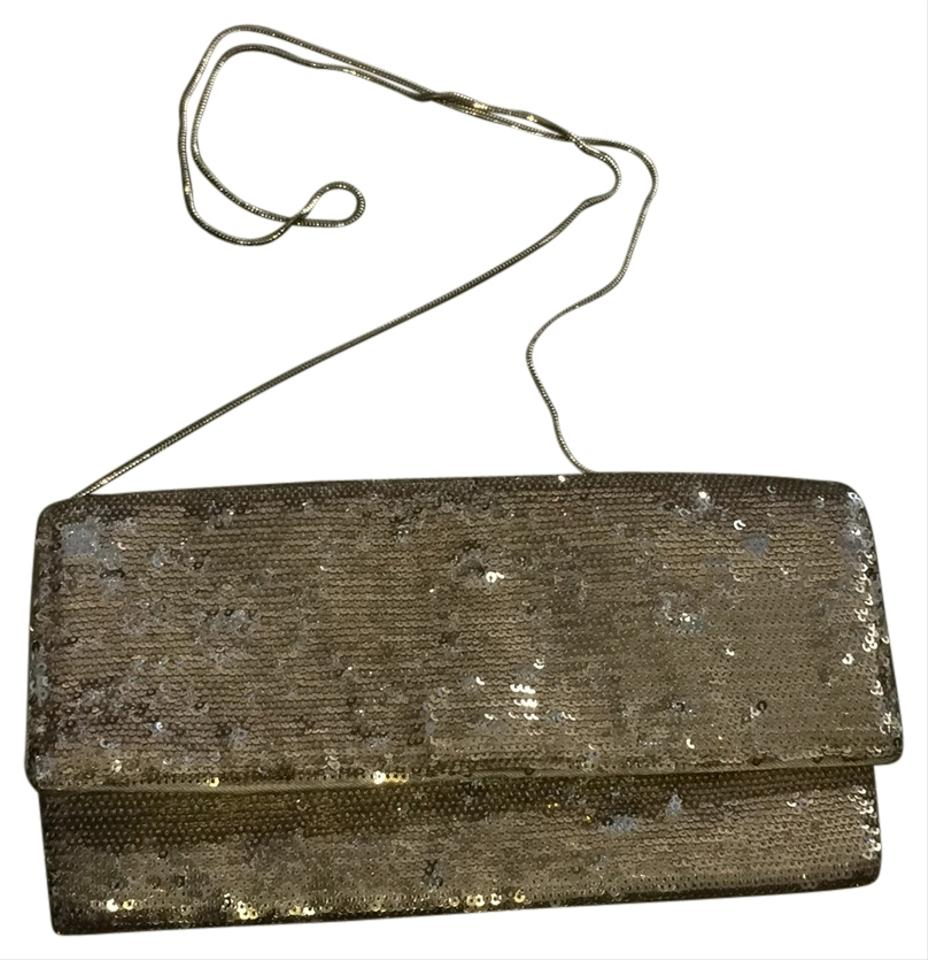 BCBGMAXAZRIA Gold Clutch on Sale, 63% Off   Clutches on Sale