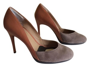 Ann Taylor Brown/ grey Pumps