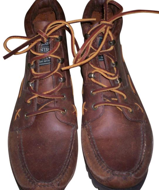 Item - Brown Leather Country Boots/Booties Size US 10.5