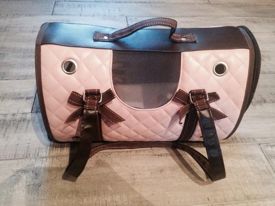 Other Pink And Brown Travel Bag