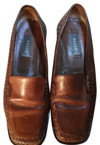Bally Classic brown Flats