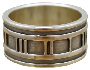 Tiffany & Co. Tiffany & Co. Wide Atlas Collection Band Ring Size 8 in Sterling Silver