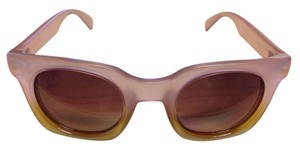 Marc Jacobs Marc Jacobs SQUARE DEGRADE SUNGLASSES IN AMBER MMJ 474S 47-25-140