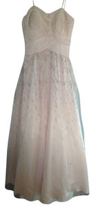Adrianna Papell Prom Sparkles Nude Dress