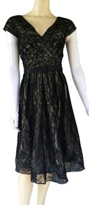 Chetta B. by Sherrie Bloom and Peter Noviello Lace Party Full Skirt Dress