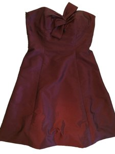 Priscilla of Boston Red Maroon 12 Dress