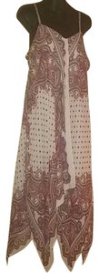 As U Wish short dress As U Wish Paisley Handkerchief Dress on Tradesy