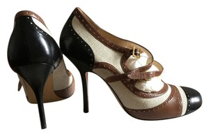 Moschino Brown/Black Pumps