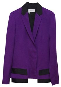 10 Crosby Derek Lam Purple And Black Blazer