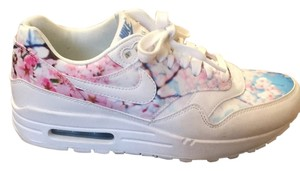 nike air max cherry blossom White with Cherry Blossom print Athletic