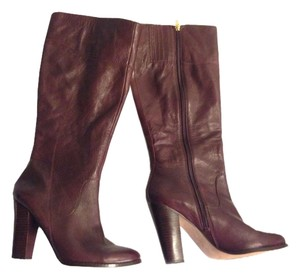 Audrey Brooke Burgundy Boots