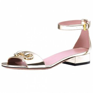 Gucci Light Fawn Sandals
