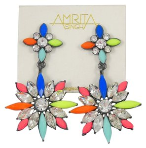Amrita Singh Amrita Singh Gunmetal/Multi Earrings-ERC 5171