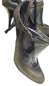 Via Spiga Silver Pumps