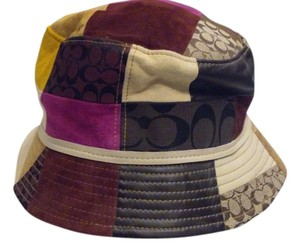 Coach Patchwork Bucket Hat