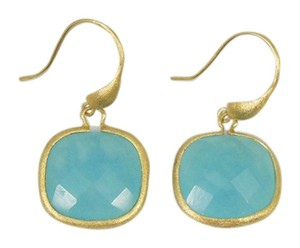 Rivka Friedman Rivka Friedman Blue Quartzite Dangle Earrings