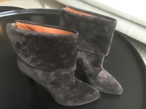 Michel Vivien Made In Italy Chocolate suede Boots