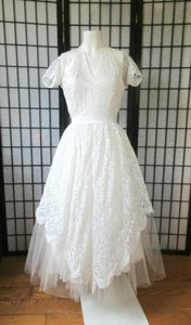 Vintage Harry Keiser 1940s 1950s Wedding Dress Wedding Dress