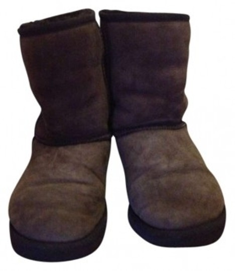 Preload https://img-static.tradesy.com/item/137254/ugg-australia-chocolate-brown-classic-bootsbooties-size-us-7-0-0-540-540.jpg
