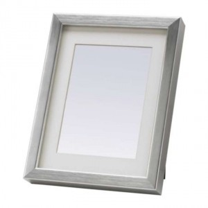 Silver Silver/ Aluminum Colored Frames For Table Numbers Reception Decoration