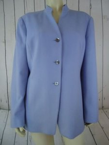 Talbots Talbots Blazer Pure Cashmere Lt Blue Periwinkle Button Front Lined Stunning