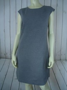 Trina Turk short dress Gray Wtag Viscose Elastane Pullover Round Hem Chic on Tradesy