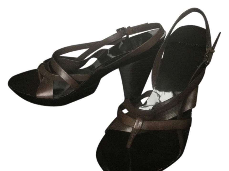 Givenchy Vacc Vacc Givenchy Dark Brown 593825 Sandals ccb01e