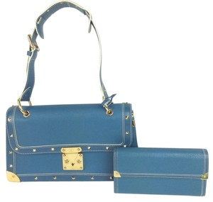 Louis Vuitton Shoulder Satchel in blue
