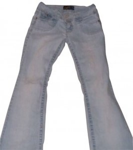 Angels Size 9 Flare Leg Jeans-Light Wash