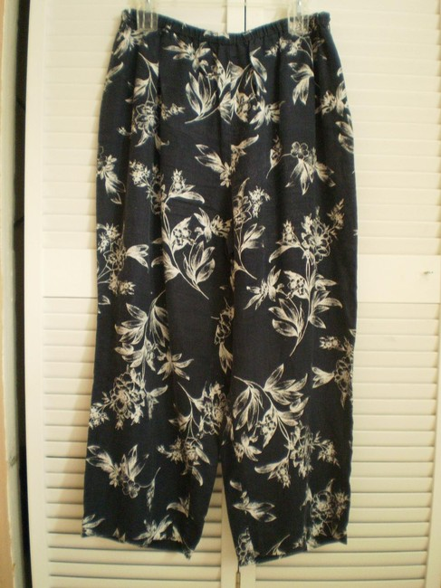 Amanda Smith Navy & White Pants Size 16 (XL, Plus 0x) Amanda Smith Navy & White Pants Size 16 (XL, Plus 0x) Image 1