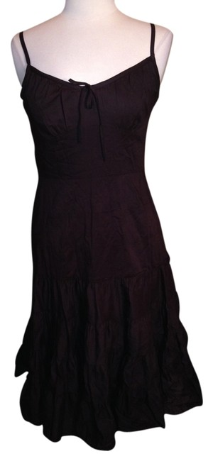 Preload https://img-static.tradesy.com/item/1372795/ann-taylor-loft-brown-mid-length-cocktail-dress-size-petite-6-s-0-0-650-650.jpg