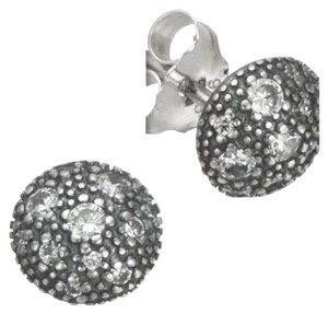 PANDORA NWOT Pandora 290560cz Earrings Cosmic Stars Cubic Zirconia Sterling Silver