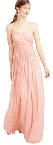 J.Crew Bridesmaid Chiffon Silk Dress