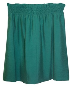 J.Crew City Mini Mini Green Mini Skirt Jade Green
