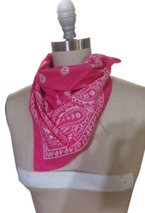100% Cotton Pink Bandana