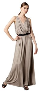 Robert Rodriguez Maxi Beige Dress