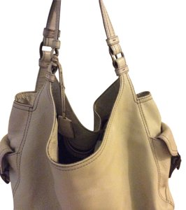 Banana Republic Satchel in Light Tan