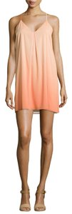 Alice + Olivia short dress Orange (Coral/Melon) Ombre + Racer Back Fierra on Tradesy